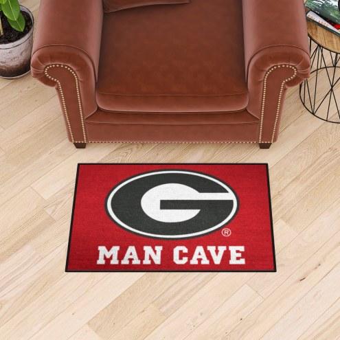 Georgia Bulldogs Man Cave Starter Mat