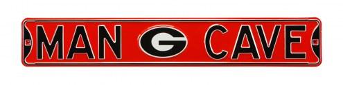 Georgia Bulldogs Man Cave Street Sign
