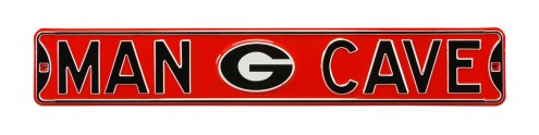 Georgia Bulldogs Man Cave Street Sign