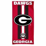 Georgia Bulldogs McArthur Beach Towel
