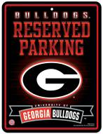 Georgia Bulldogs Metal Parking Sign