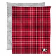 Georgia Bulldogs Micro Mink Throw Blanket