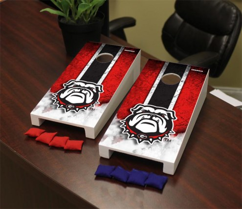 Georgia Bulldogs Mini Cornhole Set