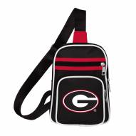 Georgia Bulldogs Mini Cross Sling Bag