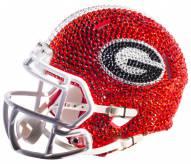 Georgia Bulldogs Mini Swarovski Crystal Football Helmet