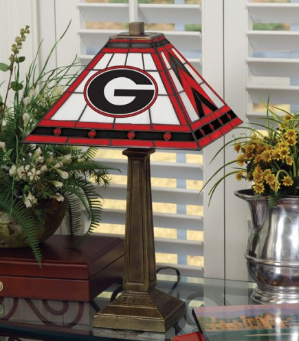 Georgia Bulldogs Mission Table Lamp