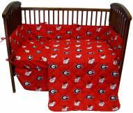 Georgia Bulldogs Baby Crib Set