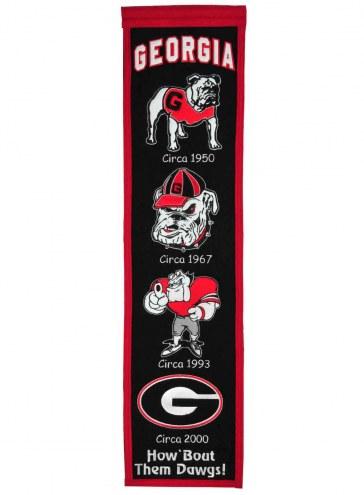 Georgia Bulldogs NCAA Heritage Banner
