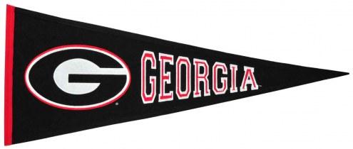 Winning Streak Georgia Bulldogs NCAA Traditions Pennant