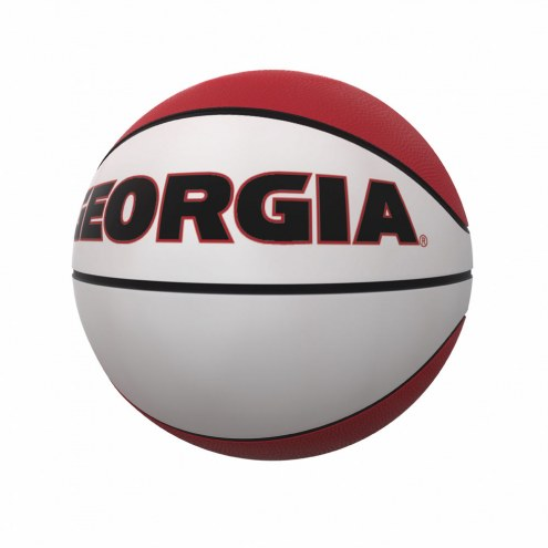Georgia Bulldogs Full Size Autograph Basketball