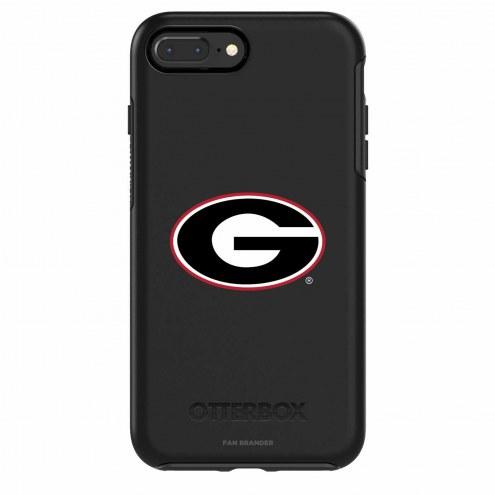 Georgia Bulldogs OtterBox iPhone 8/7 Symmetry Black Case