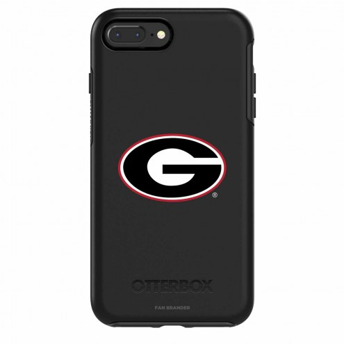 Georgia Bulldogs OtterBox iPhone 8/7 Symmetry Black Case