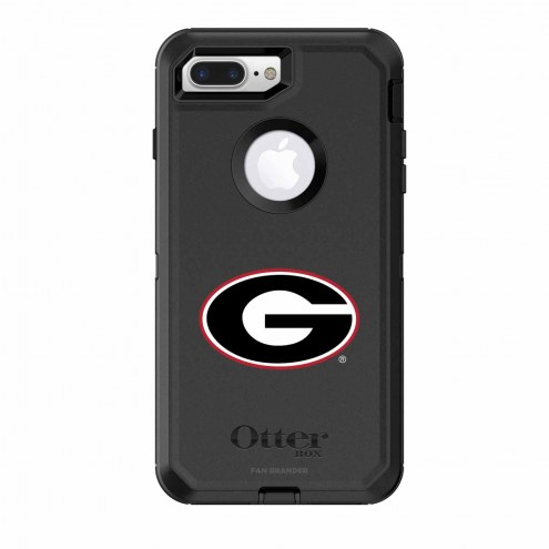 Georgia Bulldogs OtterBox iPhone 8 Plus/7 Plus Defender Black Case