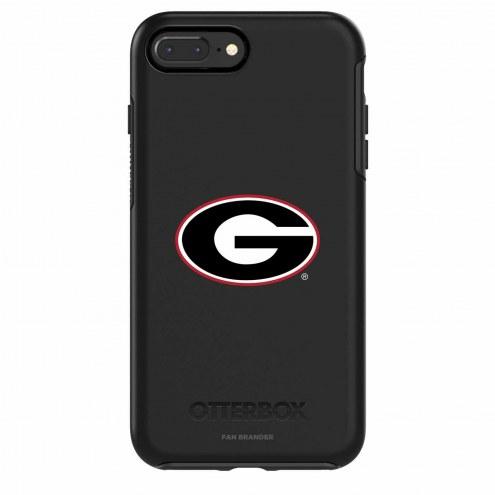 Georgia Bulldogs OtterBox iPhone 8 Plus/7 Plus Symmetry Black Case