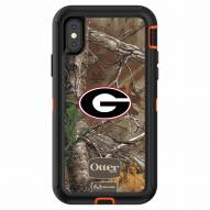 Georgia Bulldogs OtterBox iPhone X Defender Realtree Camo Case