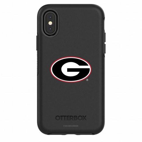 Georgia Bulldogs OtterBox iPhone X Symmetry Black Case