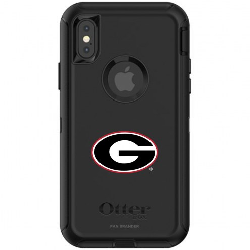 Georgia Bulldogs OtterBox iPhone X/Xs Defender Black Case