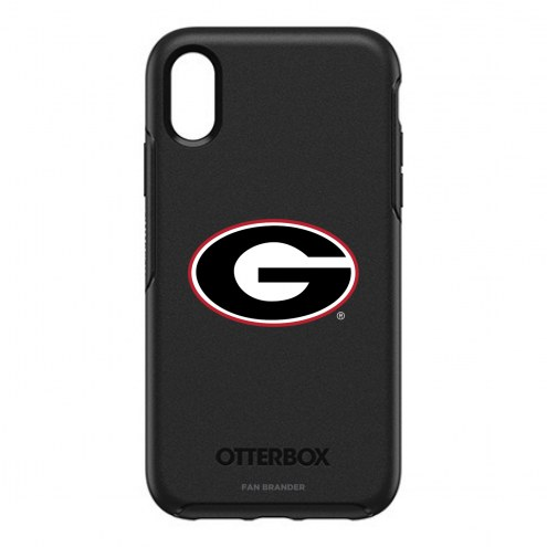 Georgia Bulldogs OtterBox iPhone XR Symmetry Black Case