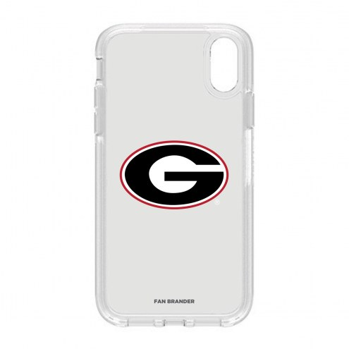 Georgia Bulldogs OtterBox iPhone XR Symmetry Clear Case