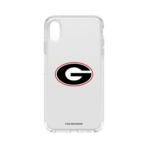 Georgia Bulldogs OtterBox iPhone XS Max Symmetry Clear Case