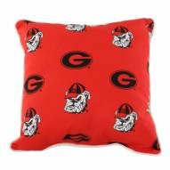 Georgia Bulldogs Outdoor Decorative Pillow