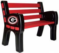 Georgia Bulldogs Park Bench