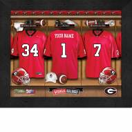 Georgia Bulldogs Personalized 11 x 14 Framed Photograph