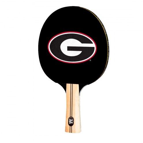 Georgia Bulldogs Ping Pong Paddle