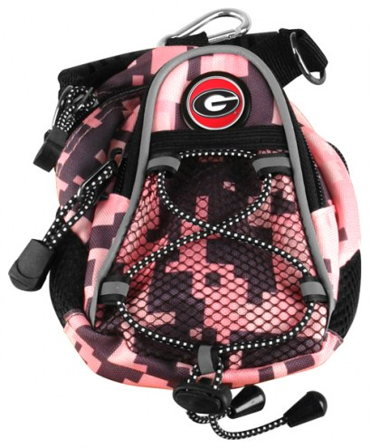 Georgia Bulldogs Pink Digi Camo Mini Day Pack