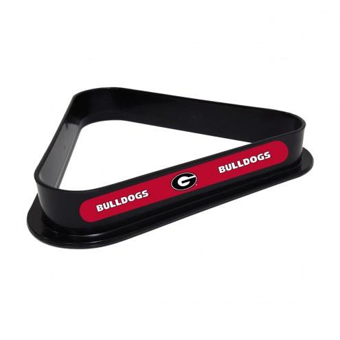 Georgia Bulldogs Pool 8 Ball Rack