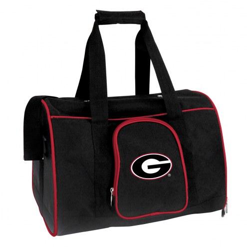 Georgia Bulldogs Premium Pet Carrier Bag