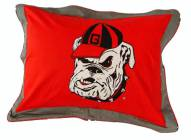 Georgia Bulldogs Printed Pillow Sham