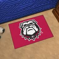 Georgia Bulldogs Red NCAA Starter Rug