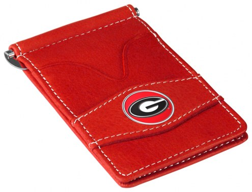 Georgia Bulldogs Red Player's Wallet
