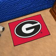 Georgia Bulldogs Red Starter Rug