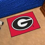 Georgia Bulldogs Red Starter Rug