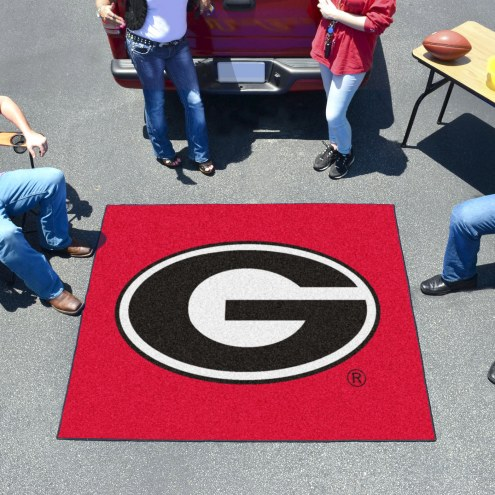 Georgia Bulldogs Red Tailgate Mat