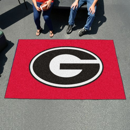 Georgia Bulldogs Red Ulti-Mat Area Rug