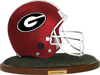 Georgia Bulldogs Collectible Football Helmet Figurine