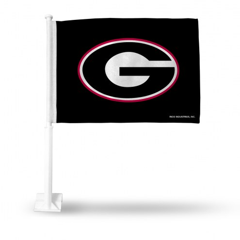 Georgia Bulldogs Car Flag