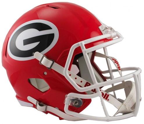 Georgia Bulldogs Riddell Speed Collectible Football Helmet