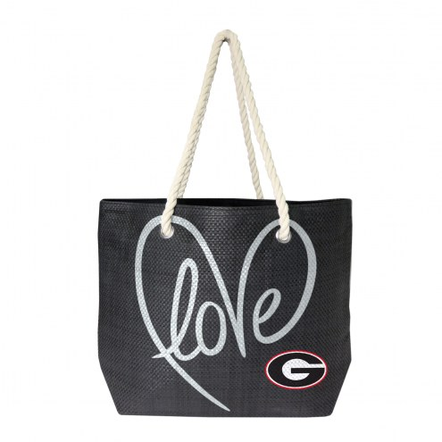 Georgia Bulldogs Rope Tote