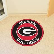 Georgia Bulldogs Rounded Mat