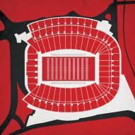 Georgia Bulldogs Sanford Stadium Print