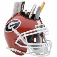 Georgia Bulldogs Schutt Football Helmet Desk Caddy