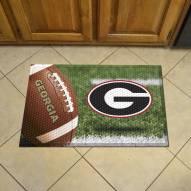 Georgia Bulldogs Scraper Door Mat