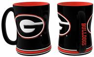 Georgia Bulldogs Sculpted Relief Coffee Mug