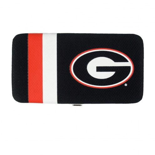 Georgia Bulldogs Shell Mesh Wallet
