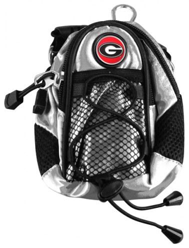 Georgia Bulldogs Silver Mini Day Pack