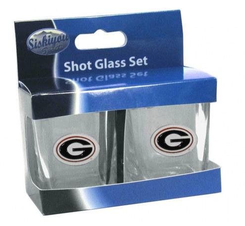 Georgia Bulldogs Shot Glass Set